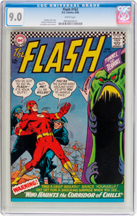 The Flash #162 (DC, 1966) CGC VF/NM 9.0 White pages