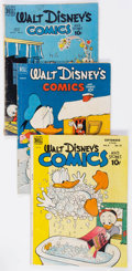 Golden Age (1938-1955):Cartoon Character, Walt Disney's Comics and Stories Group of 26 (Dell, 1948-55)Condition: Average GD/VG.... (Total: 26 Comic Books)