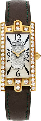 Harry Winston Lady's Diamond, Gold Avenue Watch