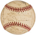 Autographs:Baseballs, 1947 Detroit Tigers Team Signed Baseball (24 Signatures).. ...