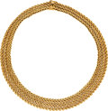 Estate Jewelry:Necklaces, Gold Necklace, Mario Buccellati . ...
