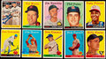 Autographs:Sports Cards, Signed 1958 Topps Baseball Card Collection (38). . ...