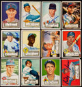 Autographs:Sports Cards, Signed 1952 Topps Baseball Collection (32). . ...