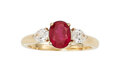 Estate Jewelry:Rings, Ruby, Diamond, Gold Ring, Cartier, French The ...