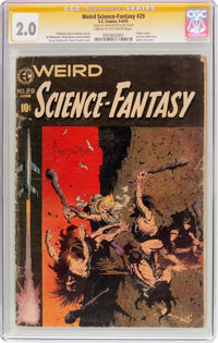 Weird Science-Fantasy #29 (EC, 1955) CGC Signature Series GD 2.0 Cream to off-white pages