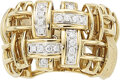 Estate Jewelry:Rings, Diamond, Gold Ring, Garavelli  The articulated...