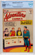 Silver Age (1956-1969):Superhero, Adventure Comics #247 (DC, 1958) CBCS GD 2.0 Off-white to white pages....