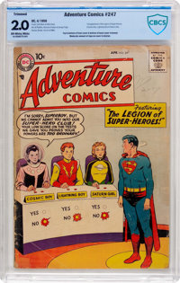Adventure Comics #247 (DC, 1958) CBCS GD 2.0 Off-white to white pages