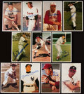 "Autographs:Sports Cards, 1982 TCMA ""Superstars"" Signed Card Collection (11) With Mantle,DiMaggio and More!. ..."