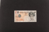 Banksy (British, b. 1974) Di-Faced Tenner, 10 GBP Note, 2005 Offset lithograph in colors on paper