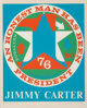 Robert Indiana (b. 1928) An Honest Man Has Been President: A Portrait of Jimmy Carter, 1980 Screenprint in colors on p...