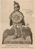 """Political:Posters & Broadsides (1896-present), Anti-William Jennings Bryan: A Great Satirical """"Poster."""" ..."""