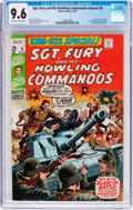 Bronze Age (1970-1979):War, Sgt. Fury and His Howling Commandos Annual #6 (Marvel, 1970) CGC NM+ 9.6 Off-white to white pages....