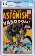Silver Age (1956-1969):Horror, Tales to Astonish #17 (Marvel, 1961) CGC VG+ 4.5 Off-white to whitepages....