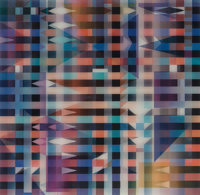 Yaacov Agam (b. 1928) Meridia, from Mexico Suite, 1985 Agamograph 14 x 15 inches (35.6