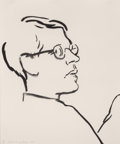 Fine Art - Work on Paper:Print, David Hockney (b. 1937). James, 1980. Lithograph on ArchesCover paper. 24 x 20 inches (61 x 50.8 cm) (sheet). Ed. 33/10...