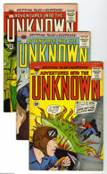 Silver Age (1956-1969):Horror, Adventures Into the Unknown Group (ACG, 1963-67) Condition: AverageVG+. This group consists of 27 comics: #140, 141, 142, 1... (27Comic Books)