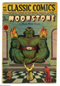 Golden Age (1938-1955):Classics Illustrated, Classic Comics #30 The Moonstone First Edition (Gilberton, 1946)Condition: VG. Don Rico cover and art. Overstreet 2005 VG 4...
