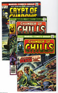 Bronze Age (1970-1979):Horror, DC/Marvel Bronze Horror Group (DC/Marvel, 1970-81) Condition:VF/NM. This group contains Chamber of Chills #14 and 25; ... (18Comic Books)