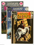 Bronze Age (1970-1979):Horror, DC Bronze Horror Group (DC, 1971-73) Condition: Average VF+. Thisgroup lot of a half-dozen issues features House of Secre... (6Comic Books)