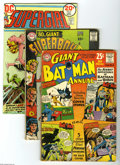 Silver Age (1956-1969):Miscellaneous, DC Plus Silver/Bronze Age Group (DC/Others, 1950s-70s) Condition:Average GD. Here's a mixed bag of approximately 120 comics...