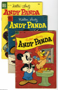 Golden Age (1938-1955):Miscellaneous, Dell Group Golden Age (Dell, 1949-62) Average GD+. Here's a big stack of fun reading: Andy Panda #19, 29, and 41; Beep... (43 Comic Books)