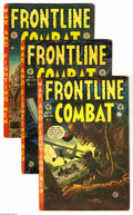 Golden Age (1938-1955):War, Frontline Combat #11-15 Group (EC, 1953-54). This lot consists ofissues #11, 12, 13, 14, and 15. Artists include Jack Davis... (5Comic Books)