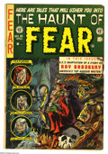 Golden Age (1938-1955):Horror, Haunt of Fear #18 (EC, 1953) Condition: VG. Ray Bradbury biographyand story adaptations. Graham Ingels cover; interior art ...