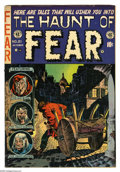 Golden Age (1938-1955):Horror, Haunt of Fear #21 (EC, 1953) Condition: VG/FN. Graham Ingels cover.Art by Ingels, Jack Davis, and Reed Crandall, plus a col...
