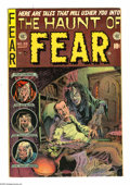 "Golden Age (1938-1955):Horror, Haunt of Fear #26 (EC, 1954) Condition: VG/FN. Containsanti-censorship editorial ""Are you a Red Dupe?"" Graham Ingelscover...."