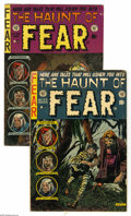 Golden Age (1938-1955):Horror, Haunt of Fear Group (EC, 1954). This group contains issues #23 and24. Covers by Graham Ingels. Ingels, Jack Davis, Jack Kam... (2Comic Books)