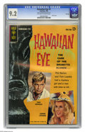 Silver Age (1956-1969):Mystery, Hawaiian Eye #1 File Copy (Gold Key, 1963) CGC NM- 9.2 Off-white towhite pages. Troy Donahue, and Connie Stevens photo cove...