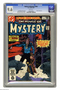 Modern Age (1980-Present):Horror, House of Mystery #295 (DC, 1981) CGC NM+ 9.6 White pages. Mike W.Kaluta cover. Tom Sutton, Tenny Henson, and Johnny Craig a...