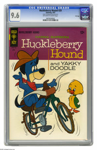Huckleberry Hound #29 File Copy (Gold Key, 1967) CGC NM+ 9.6 Off-white to white pages. Overstreet 2005 NM- 9.2 value = $...