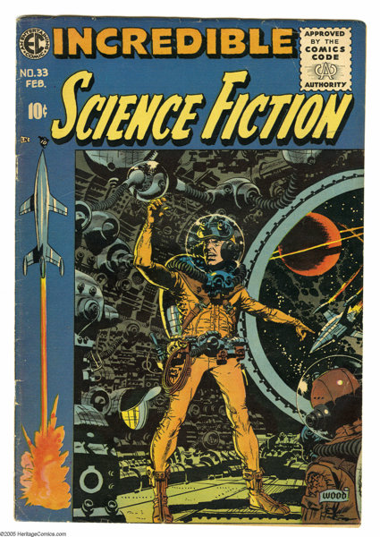 Incredible Science Fiction #33 (EC, 1956) Condition: VG. This | Lot ...