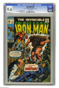 Silver Age (1956-1969):Superhero, Iron Man #24 (Marvel, 1970) CGC NM+ 9.6 Off-white pages. Marie Severin cover. Johnny Craig and George Tuska art. Overstreet ...