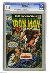 Iron Man #24 (Marvel, 1970) CGC NM+ 9.6 Off-white pages. Marie Severin cover. Johnny Craig and George Tuska art. Overstr...