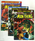 Bronze Age (1970-1979):Horror, Man-Thing Group (Marvel, 1974-80) Condition: Average NM-.Fifteen-issue group lot includes #4 (origin and last appearanceof... (15 Comic Books)