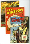 Golden Age (1938-1955):Miscellaneous, Miscellaneous Golden Age Group (Various Publishers, 1944-56) Condition: Average GD/VG. This lot consists of Don Winslow of... (13 Comic Books)
