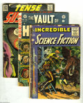 Golden Age (1938-1955):Horror, Miscellaneous Golden Age Horror Group (Various Publishers, 1950's)Condition: Average FR. This group contains Adventure In... (13Comic Books)