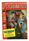 Golden Age (1938-1955):Horror, Psychoanalysis #1 (EC, 1955) Condition: FN+. Jack Kamen cover andart. Not code approved. Overstreet 2005 FN 6.0 value = $57...