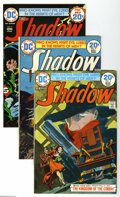 Bronze Age (1970-1979):Miscellaneous, The Shadow #3, 4, 5, and 12 Group (DC, 1974-75) Condition: AverageVF/NM. This group consists of four comics: #3, 4, 5, and ... (4Comic Books)