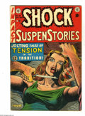 Golden Age (1938-1955):Horror, Shock SuspenStories #8 (EC, 1953) Condition: VG+. Atomic explosionpanel. Al Feldstein stories and cover. Jack Kamen, Wally ...