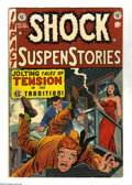 Golden Age (1938-1955):Horror, Shock SuspenStories #10 (EC, 1953) Condition: VG+. Jack Kamencover. Kamen, Wally Wood, Joe Orlando, and Reed Crandall art. ...