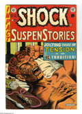 "Golden Age (1938-1955):Horror, Shock SuspenStories #12 (EC, 1953) Condition: FN-. Anti-drug issuewith classic junkie cover and story (""The Monkey""). Al Fe..."