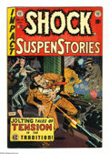 Golden Age (1938-1955):Horror, Shock SuspenStories #14 (EC, 1954) Condition: FN/VF. Wally Woodcover. Jack Kamen, Wally Wood, Bernard Krigstein, and George...