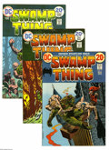 Bronze Age (1970-1979):Horror, Swamp Thing Group (DC, 1973-80) Condition: Average FN/VF. Thisgroup consists of 20 comics: #2 (first brief appearance of Pa...(20 Comic Books)