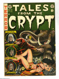 Golden Age (1938-1955):Science Fiction, Tales From the Crypt #32 (EC, 1952) Condition: VG+. Jack Daviscover. Davis, George Evans, Fred Peters, and Graham Ingels ar...