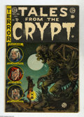 Golden Age (1938-1955):Horror, Tales From the Crypt #46 (EC, 1955) Condition: VG. Last issue ofthe title. Low distribution according to Overstreet. Conten...