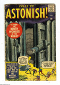 Silver Age (1956-1969):Horror, Tales to Astonish #1 (Marvel, 1959) Condition: GD-. Monster coverby Jack Kirby. Interior art by Kirby, Steve Ditko, Paul Re...